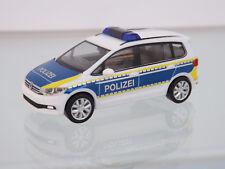 """Herpa 093576 - 1:87 - VW Touran """"Polizei Brandenburg"""" - NEU in OVP"""