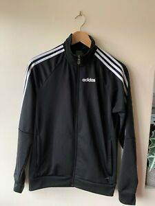 Adidas Tracksuit Jacket Size XS / S   Black Coat Retro Sports Vtg 90s Climalite