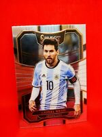 Panini Select soccer 2017-18 silver MINT Argentine Lionel Messi #76