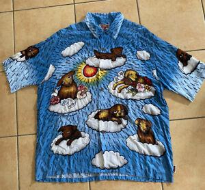 MAMBO loud shirt XL Puppies Reg Mombassa