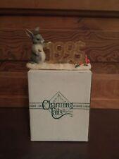 Silvestri Charming Tails Dean Griff Binkey's Ice Sculpture Figurine with Box