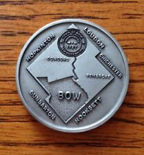 Rare Vintage TOWN OF BOW, NH 1976 Pewter Bicentennial MEDAL Token COIN