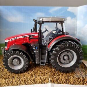 Massey Ferguson Tractor 8740S 1:50 Scale Toy Model Farm Diecast Metal by Bburago