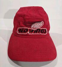 Vintage Red Wings Hat Starter Brand 5 Panel Cap  RARE