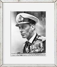 Photo: King George VI, in Royal Navy admiral's Uniform 1951
