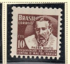 Brazil 1961-62 Early Issue Fine Mint Hinged 10c. NW-07642