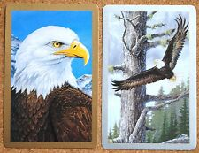 BIRD - MAGNIFICENT MAJESTIC EAGLE - MINT PAIR SWAP PLAYING CARDS