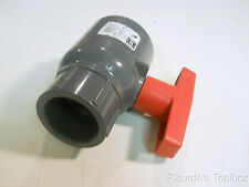 "Unused 1-1/2"" Spears Schedule 80 Compact Socket Ball Valve EPDM, 2122-015"