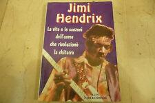 """JIMI HENDRIX""""La vita,le canzoni-Libro brossurato foto B/N- NATH  1997"""""""