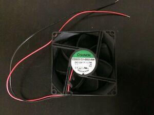 Sunon 80mm DC Brushless Cooling Fan 80 x 80 x 25mm 12VDC Fan EE80251S1-000U-A99