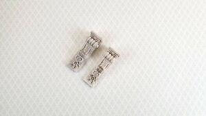 "Dollhouse Miniature Corbel Brackets Large Resin 2 7/8"" 1:12 Scale Set of 2"