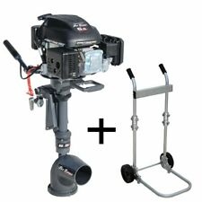 Outboard engine Jet Turbo 6,5hp 4 stroke with Clutch & Security Key