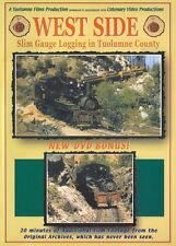 West Side: Slim Gauge Logging in Tuolumne County Catenary Video DVD