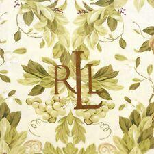RALPH LAUREN Brookfield Floral 5pc FABRIC TABLECLOTH & NAPKIN SET NEW CHRISTMAS