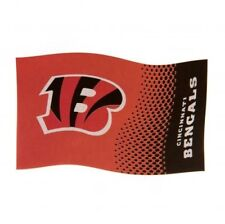 Cincinnati Bengals NFL American Football Team 5ft x 3ft Flag FD Free UK P&P