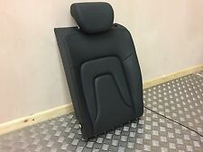 AUDI A5 COUPE CONVERTIBLE NS PASSENGER REAR SEAT S LINE BLACK FINE LEATHER