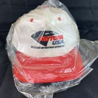 Vintage Daytona USA Hat Ultimate Motorsports Attraction Nascar Racing Snapback