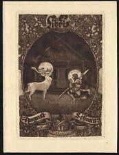30)Nr.152- EXLIBRIS- Ludwig Hesshaimer, 1919