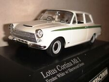 Minichamps 1/43 LOTUS Cortina Mk1 1963 Ermine White w/ Sherwood Green 400082070