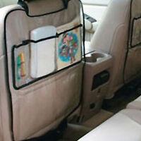 1x asiento de coche protector de espalda cubierta para niños patadaMat proteger