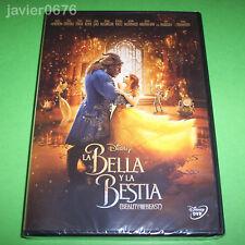 LA BELLA Y LA BESTIA 2017 DISNEY DVD NUEVO Y PRECINTADO