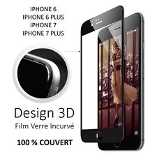 FILM VITRE VERRE TREMPE INTEGRAL 3D POUR APPLE IPHONE AU CHOIX IPHONE 6/7/PLUS