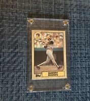 1987 Topps #320 Barry Bonds Rookie Card  (His ONLY True Topps RC)  PSA READY HOF