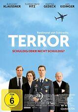 DVD * TERROR - IHR URTEIL | BURGHART KLAUSSNER , MARTINA GEDECK # NEU OVP +