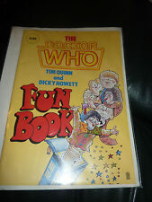 Dr Doctor Who: Fun Book by Tim Quinn and Dicky Howett.