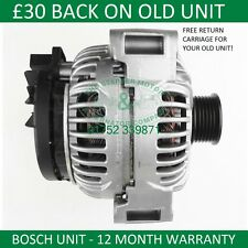 MERCEDES SL S E CLASS 97-09 BOSCH ALTERNATOR 0124615044 0124615047 0124615049