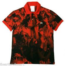 MICHAEL STIPE / R.E.M. x Lacoste 'Crowd - Red', 2008 Visionaire 54 Polo S *NEW*