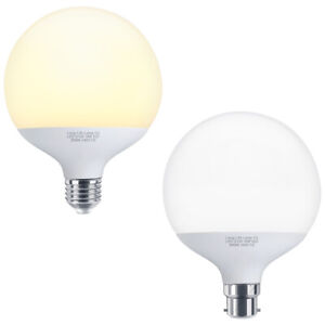 LED Globe Light Bulb 18w Replacement for 162w B22 E27 Warm or White G120 LED