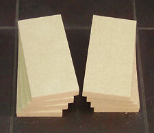 """Fire Bricks for Hunter Stove Fire Bricks Pack of 8.4.5"""" x  9"""" x 1"""" Villager also"""