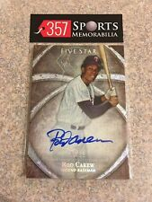 ROD CAREW 2014 TOPPS FIVE STAR SILVER AUTO AUTOGRAPH SP #D /25 HOF TWINS SP
