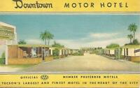 AG(W) Downtown Motor Hotel, Tuscon, Arizona