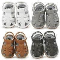 Kid Baby Boys Sandals Shoe Casual Shoes Sneaker Anti-slip Soft Sole Infant Shoes