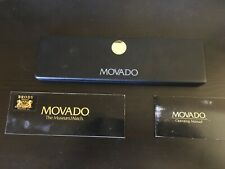 Operating Manual & Blank Warranty Vintage Movado Museum Watch Box, Instructions