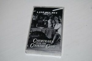 Lana Del Rey - Chemtrails Over The Country Club Cassette Tape NEW SEALED