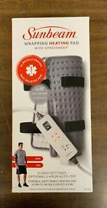 SUNBEAM PAIN RELIEVING EXPRESS HEAT WRAPPING PAD BRAND NEW In The Box