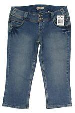 Paris Blues Womens Jeans Crop Junior Size 11 Low Rise Stretch Denim
