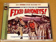 B.O./O.S.T. Fixed Bayonets Baïonnette au Canon Roy Webb Intrada 1200 ex