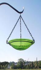 Achla Fern Green Hanging Birdbath BBH-02FG