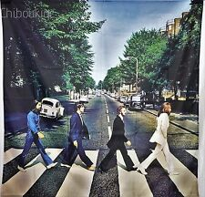 THE BEATLES Abbey Road HUGE 4X4 BANNER poster tapestry cd album cover art
