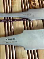 Louisville Kentucky Silversmith Coin Silver Spoons 1 Kitts & Stoy, 2 H Hudsons