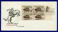 US #1934 Remington Zip Code Block YeagerArt Cachet First Day Cover FDC 1981