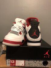 Air Jordan Retro 4 Shoes - Men, Size US 13- with Jordan Tag and Box 9.5 Condion