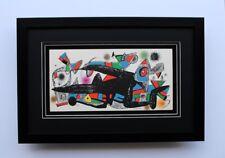 "Fabulous Original 1974 JOAN MIRO Lithograph ""Escultor Denmark"" SIGNED Framed COA"