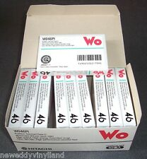10 pack pieces HITACHI WO46PI vintage audio cassette tape sealed Japan rare
