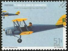 De Havilland DH-82A TIGER MOTH Aircraft Mint Stamp (1999 Portugal)