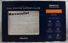 Set of 2 Tempur-Pedic Dual Position Support Memory Foam Pillows - Queen size
